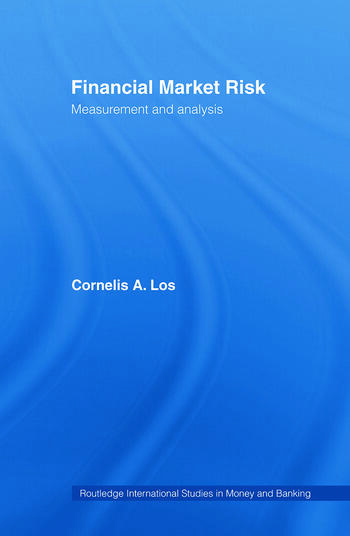 Financial Market Risk Measurement and Analysis book cover