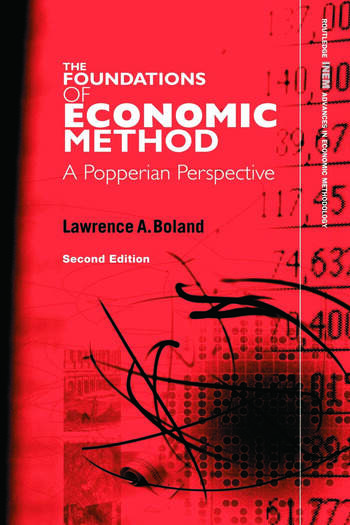 Foundations of Economic Method A Popperian Perspective, 2nd Edition book cover