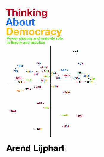 Thinking about Democracy Power Sharing and Majority Rule in Theory and Practice book cover
