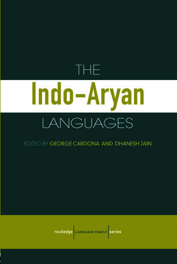 The Indo-Aryan Languages book cover