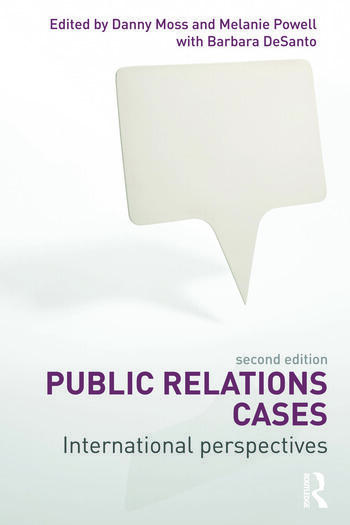 Public Relations Cases International Perspectives book cover