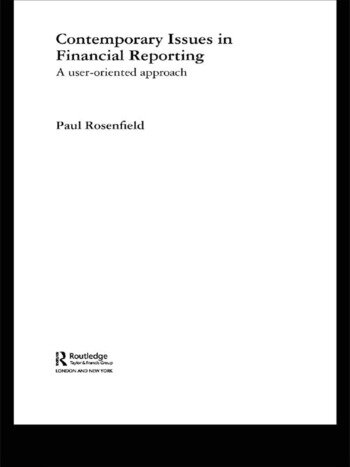 Contemporary Issues in Financial Reporting A User-Oriented Approach book cover