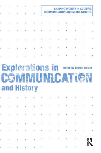 Explorations in Communication and History book cover