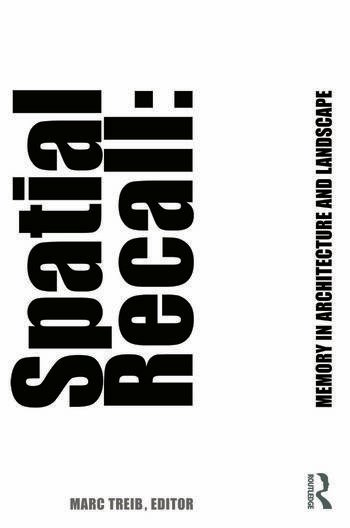 Spatial Recall Memory in Architecture and Landscape book cover
