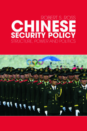 Chinese Security Policy Structure, Power and Politics book cover