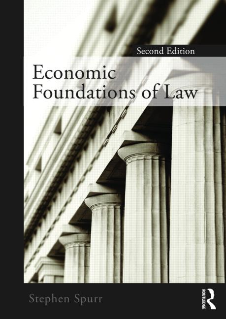 Economic Foundations of Law second edition book cover