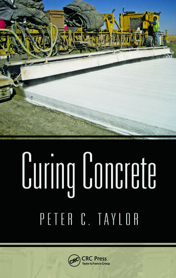 Curing Concrete book cover