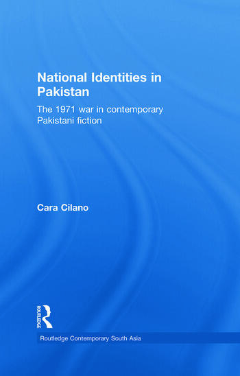 National Identities in Pakistan: The 1971 war in