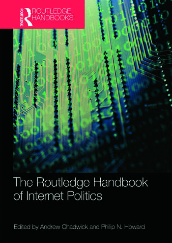 Routledge Handbook of Internet Politics book cover