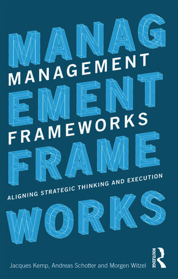 Management Frameworks Aligning Strategic Thinking and Execution book cover