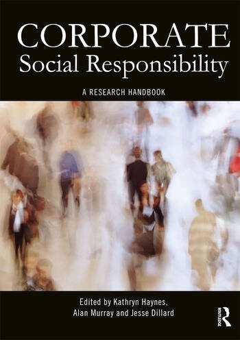 Corporate Social Responsibility A Research Handbook book cover