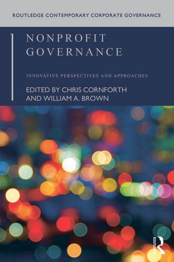 Nonprofit Governance Innovative Perspectives and Approaches book cover