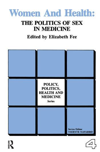 Women and Health The Politics of Sex in Medicine book cover