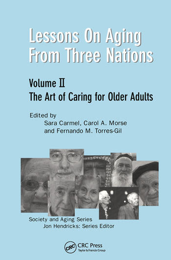 Lessons on Aging from Three Nations The Art of Caring for Older Adults book cover