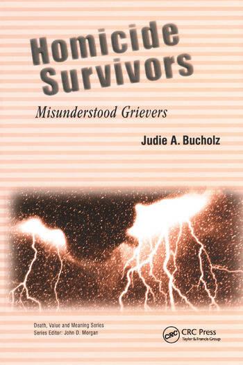 Homicide Survivors Misunderstood Grievers book cover