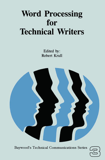 Word Processing for Technical Writers book cover