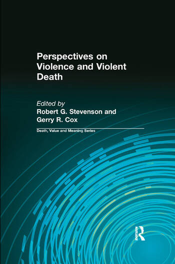 Perspectives on Violence and Violent Death book cover