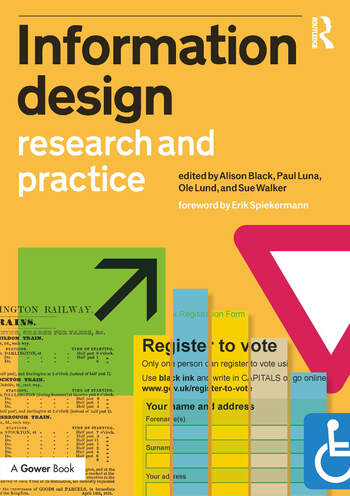 Information Design Research and Practice book cover