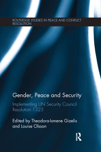 Gender, Peace and Security Implementing UN Security Council Resolution 1325 book cover