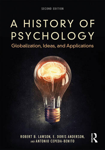 A History of Psychology Globalization, Ideas, and Applications book cover