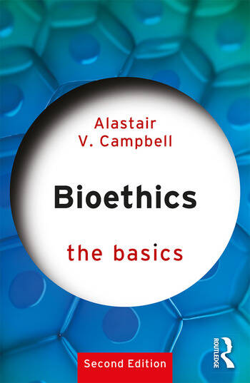 Bioethics: The Basics book cover