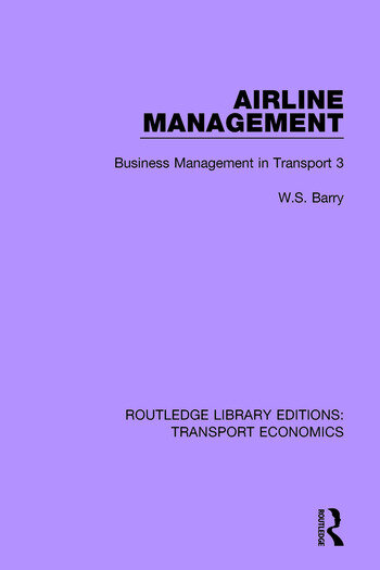 Airline Management Business Management in Transport 3 book cover