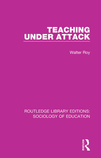 Teaching Under Attack book cover