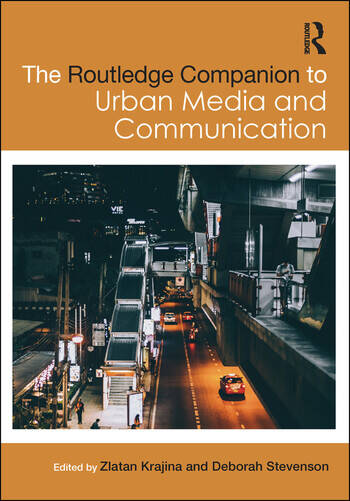 The Routledge Companion to Urban Media and Communication book cover