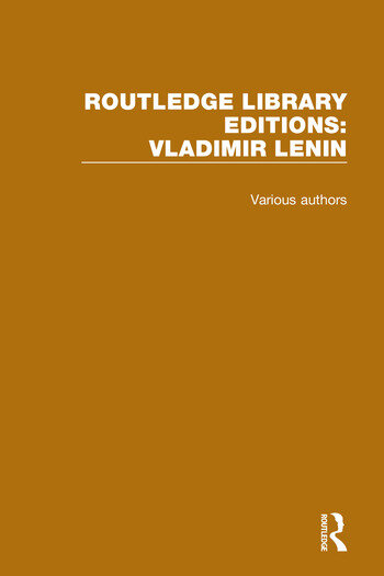 Routledge Library Editions: Vladimir Lenin book cover