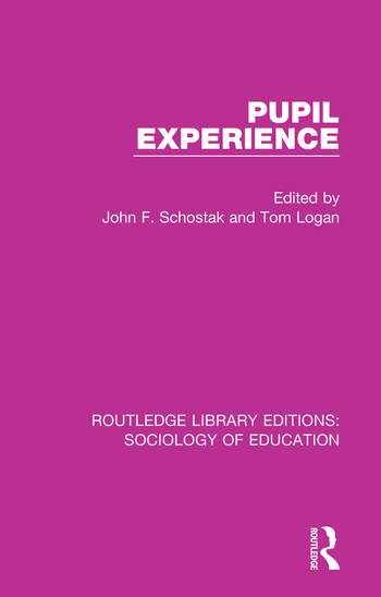 Pupil Experience book cover