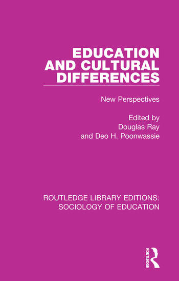 Education and Cultural Differences New Perspectives book cover