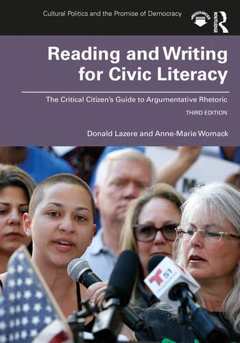 Reading and Writing for Civic Literacy The Critical Citizen's Guide to Argumentative Rhetoric, Brief Edition book cover