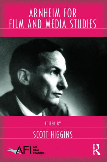 Arnheim for Film and Media Studies book cover