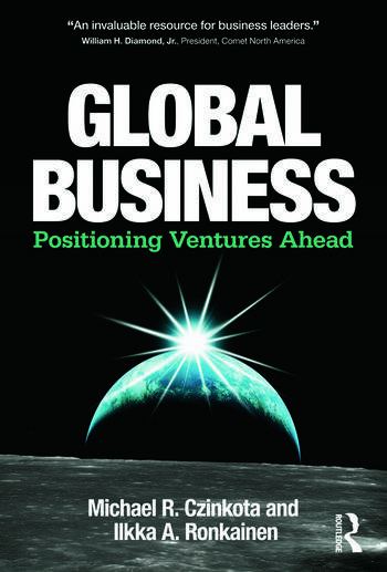 Global Business Positioning Ventures Ahead book cover