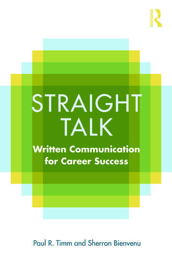 Straight Talk Written Communication for Career Success book cover