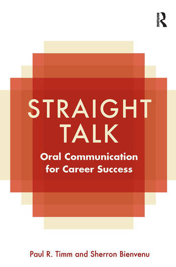 Straight Talk Oral Communication for Career Success book cover