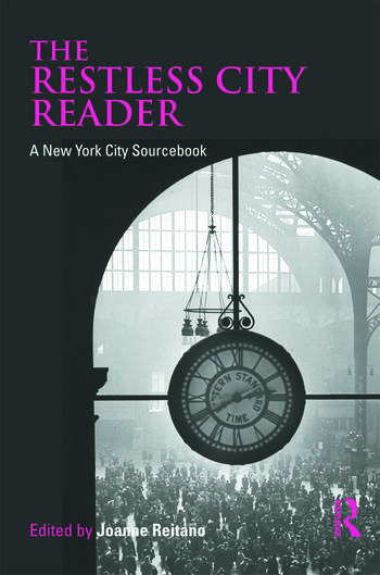 The Restless City Reader A New York City Sourcebook book cover