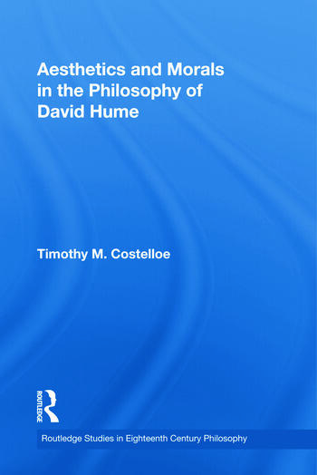 Aesthetics and Morals in the Philosophy of David Hume book cover