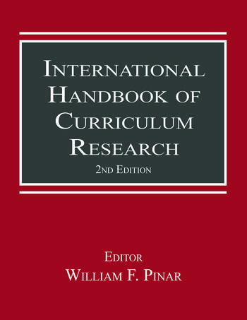 International Handbook of Curriculum Research book cover