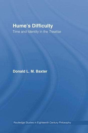 Hume's Difficulty Time and Identity in the Treatise book cover