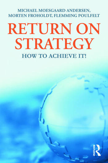 Return on Strategy How to Achieve it! book cover