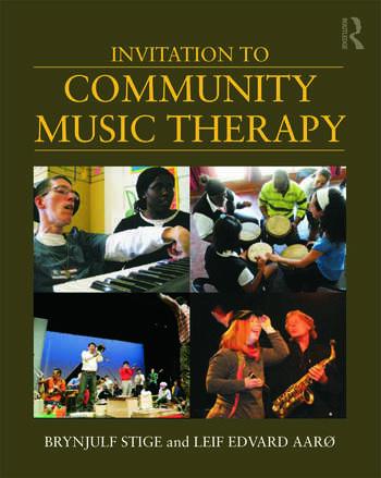 Invitation to Community Music Therapy book cover