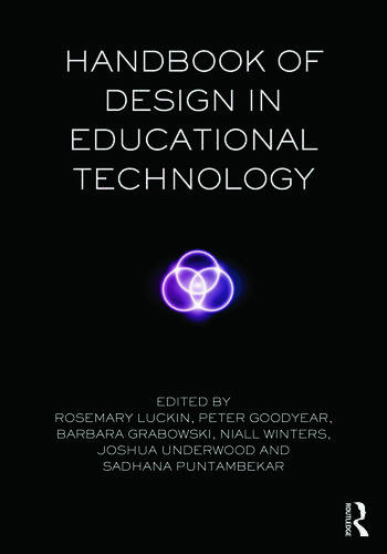 Handbook of Design in Educational Technology book cover