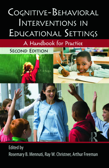 Cognitive-Behavioral Interventions in Educational Settings A Handbook for Practice book cover