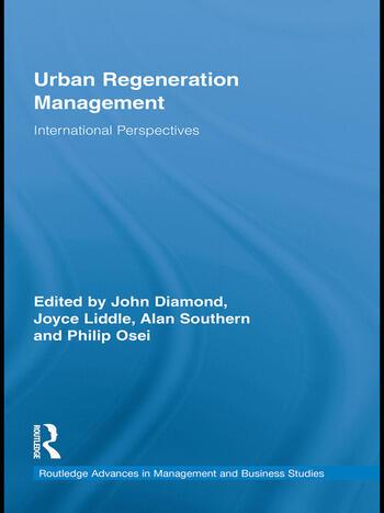 Urban Regeneration Management International Perspectives book cover
