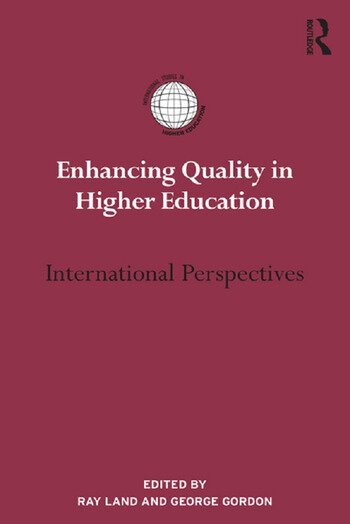 Enhancing Quality in Higher Education International Perspectives book cover