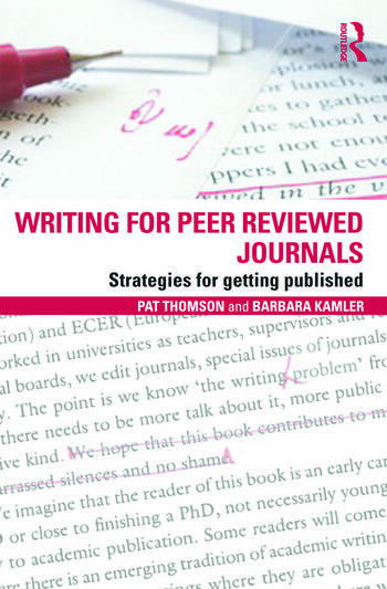 Writing for Peer Reviewed Journals Strategies for getting published book cover