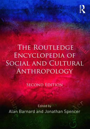 The Routledge Encyclopedia of Social and Cultural Anthropology book cover