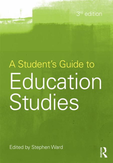 A Student's Guide to Education Studies book cover