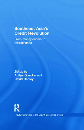 Southeast Asia's Credit Revolution From Moneylenders to Microfinance book cover